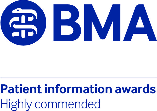 BMA Patient information awards highly commended