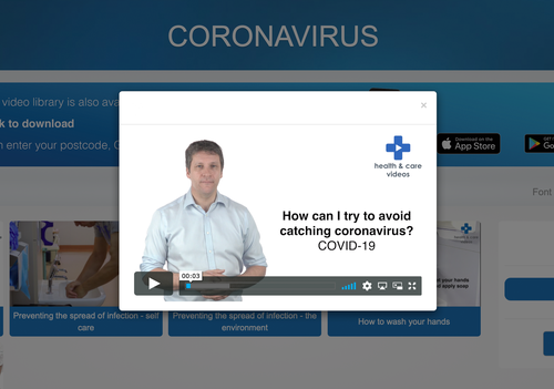 Coronavirus Support Videos