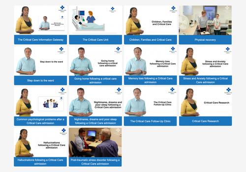 Critical Care Videos x 14