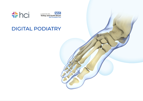 Podiatry toe nail surgery videos reduce staff time