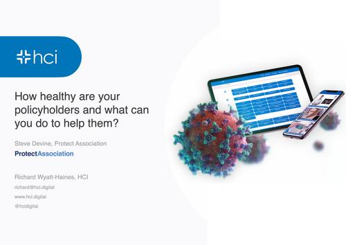 Digital Health and Insurance - Protect Association Webinar