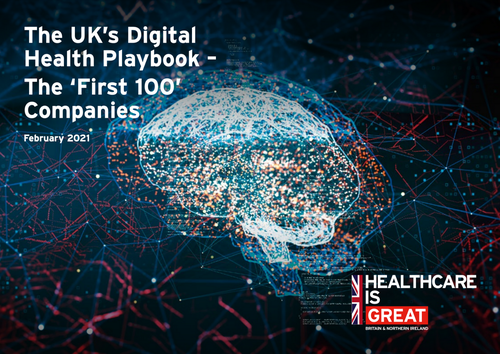 HCI in DIT's 'First 100' Companies - The UK's Digital Health Playbook