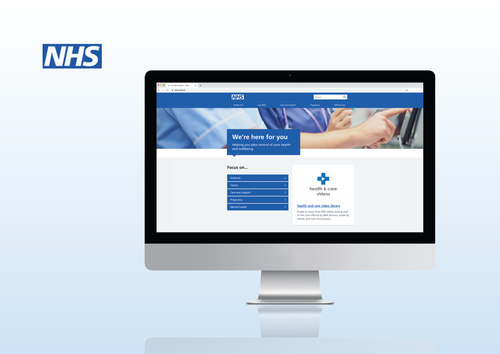 National patient information video library added to nhs.uk homepage
