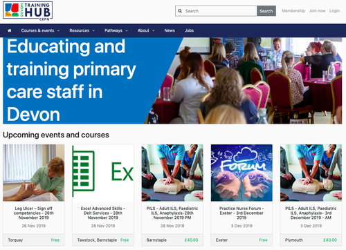 Training Hub for Primary Care Staff