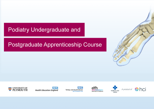 Online Video-based Podiatry Course Now Live